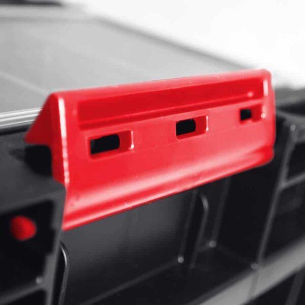 QBRICK SYSTEM ONE 350 PROFI skrzynia narzędziowa, modułowa do łączenia z innymi skrzynkami z serii One. SKRQ350PCZAPG001-46007