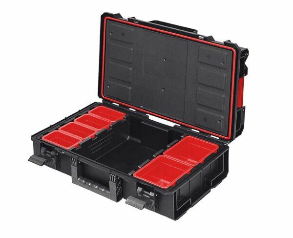 QBRICK SYSTEM ONE 200 TECHNIK skrzynia narzędziowa, modułowa do łączenia z innymi skrzynkami z serii One. SKRQ200TCZAPG001-46063