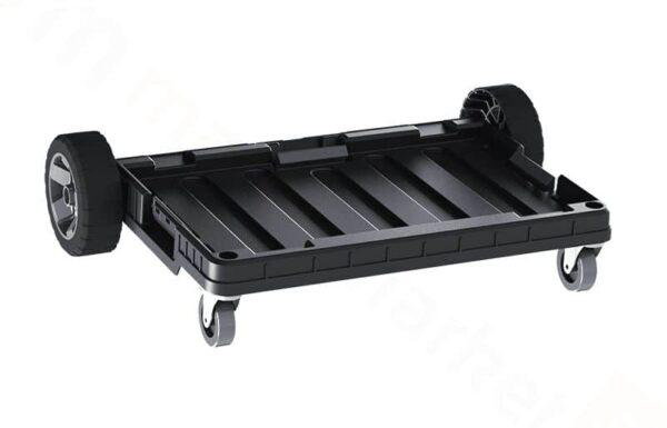 QBRICK SYSTEM SET ONE (TRANSPORT PLATFORM + 3 x ONE BOX) 3 otwarte pojemniki + patforma (SKRQBOXCZAPG001 SKRQTPCZAPG001)-46216