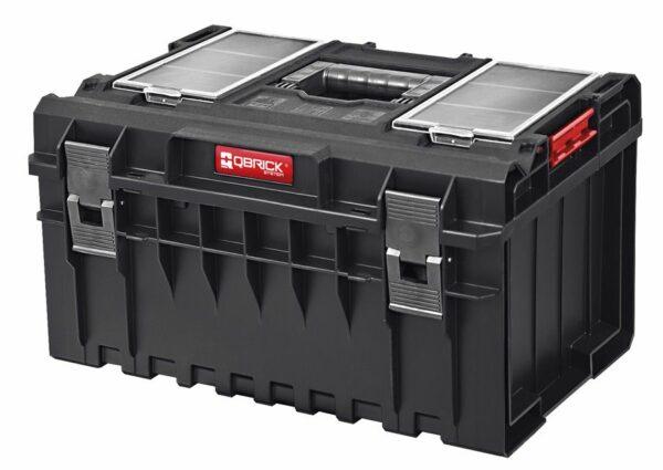QBRICK SYSTEM ONE PROFI SET Zestaw skrzynek narzędzowych, modułowych 3 elementowy + platforma Z247494PG003-46048