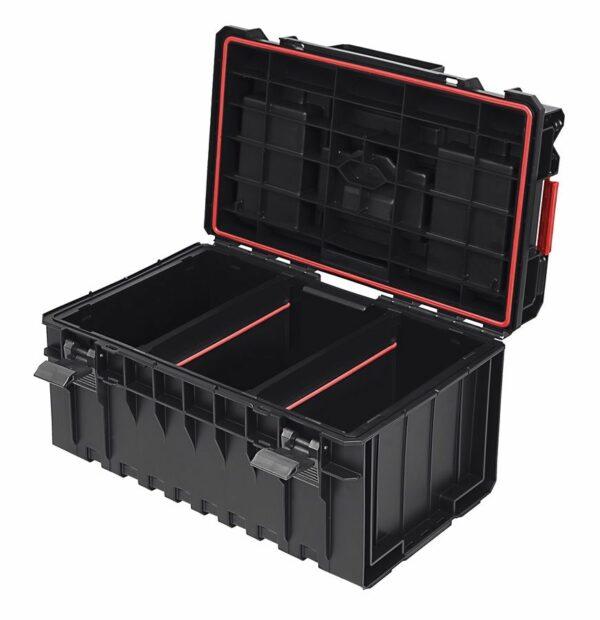 QBRICK SYSTEM ONE 350 PROFI skrzynia narzędziowa, modułowa do łączenia z innymi skrzynkami z serii One. SKRQ350PCZAPG003-46018