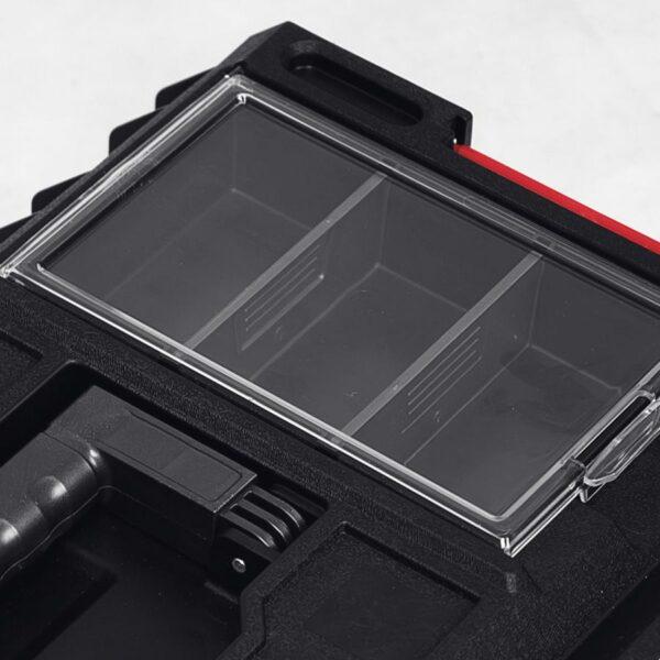 QBRICK SYSTEM ONE 350 PROFI skrzynia narzędziowa, modułowa do łączenia z innymi skrzynkami z serii One. SKRQ350PCZAPG001-46010