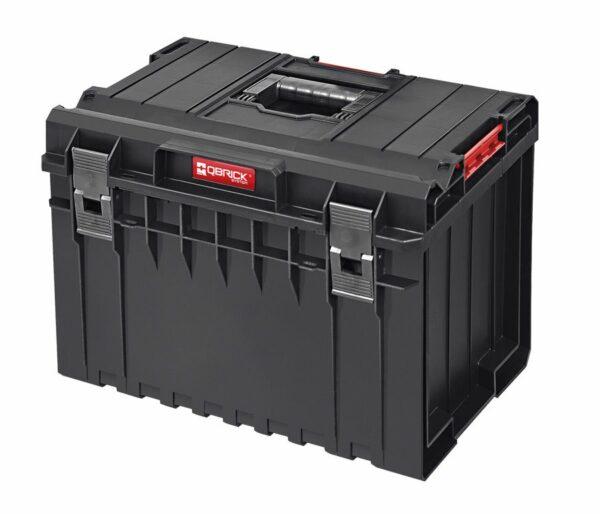 QBRICK SYSTEM ONE 450 BASIC skrzynia narzędziowa, modułowa do łączenia z innymi skrzynkami z serii One.SKRQ450BCZAPG003-0
