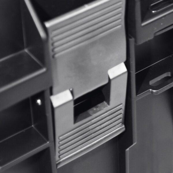 QBRICK SYSTEM ONE PROFI SET Zestaw skrzynek narzędzowych, modułowych 3 elementowy + platforma Z247494PG003-46052
