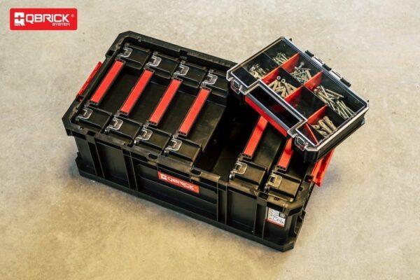 ZESTAW QBRICK SYSTEM TWO BOX 200+ 6 x QBRICK SYSTEM TWO ORGANIZER MULTI Modułowa skrzynia narzędziowa Z251613PG001-46360