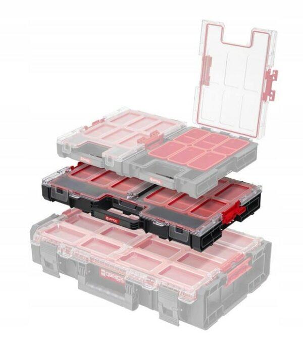 QBRICK SQbrick System One Organizer L do łączenia z innymi skrzynkami z serii One. (ORGQLCZAPG001)-45913