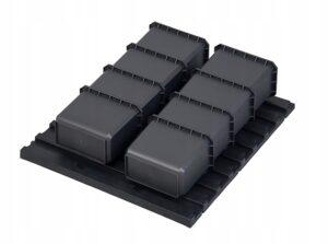 QBRICK Set FX Qbrick System 9 elements 9 elementowy zestaw pojemników Z247326PG001-0