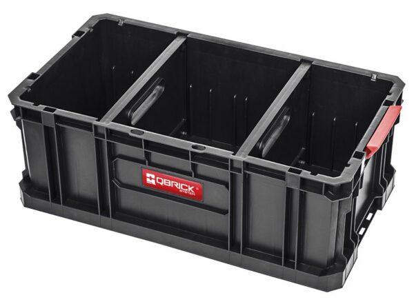 QBRICK SYSTEM TWO BOX 200 FLEX Modularny, wytrzymały Box do przenoszenia narzędzi SKRQBOXTWO2FCZAPG001-0