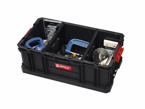QBRICK SYSTEM TWO BOX 200 FLEX Modularny, wytrzymały Box do przenoszenia narzędzi SKRQBOXTWO2FCZAPG001-46311