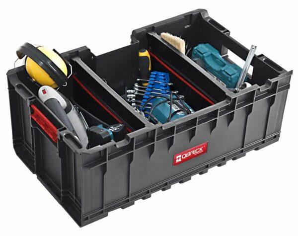 QBRICK SYSTEM SET ONE (TRANSPORT PLATFORM + 3 x ONE BOX) 3 otwarte pojemniki + patforma (SKRQBOXCZAPG001 SKRQTPCZAPG001)-46213