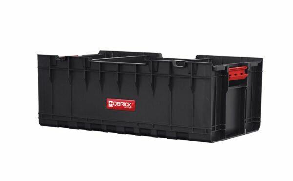 QBRICK SYSTEM SET ONE (TRANSPORT PLATFORM + 3 x ONE BOX) 3 otwarte pojemniki + patforma (SKRQBOXCZAPG001 SKRQTPCZAPG001)-46214