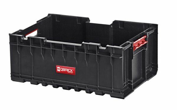 QBRICK SYSTEM SET ONE (TRANSPORT PLATFORM + 3 x ONE BOX) 3 otwarte pojemniki + patforma (SKRQBOXCZAPG001 SKRQTPCZAPG001)-46215