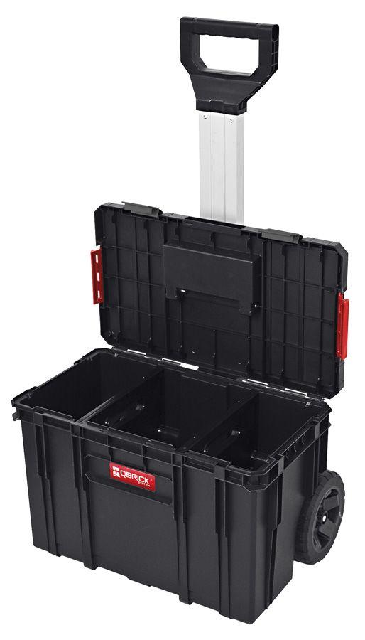 QBRICK SYSTEM TWO SET Plus Zestaw 3 elementowy skrzynie narzędziowe, modularne, wytrzymałe Z251248PG001-46274