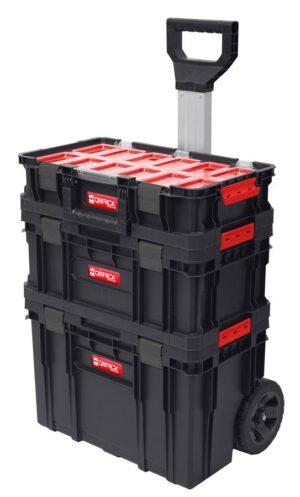 QBRICK SYSTEM TWO SET Plus Zestaw 3 elementowy skrzynie narzędziowe, modularne, wytrzymałe Z251248PG001-0
