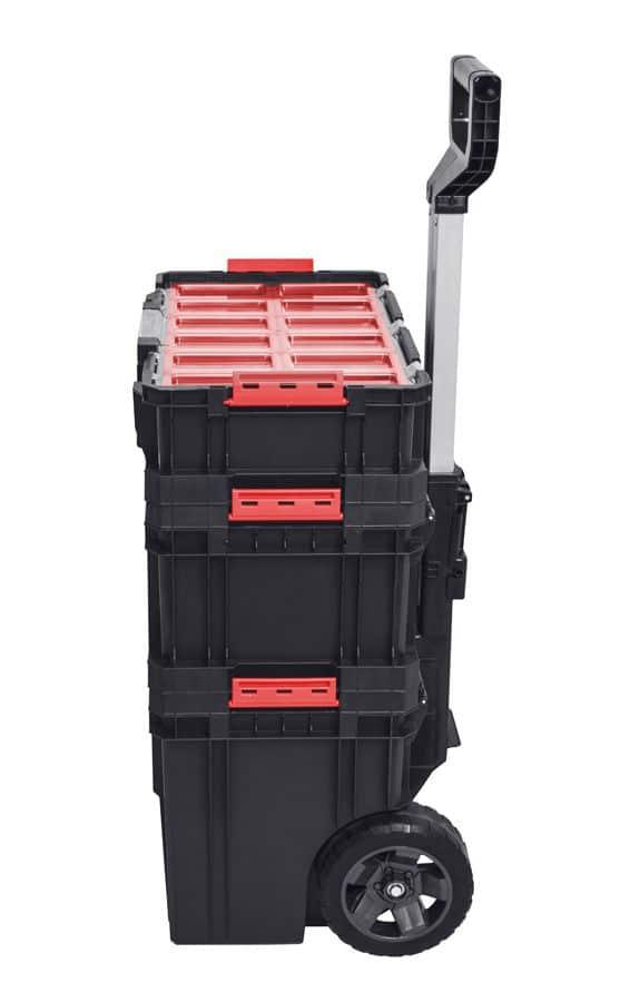 QBRICK SYSTEM TWO SET Plus Zestaw 3 elementowy skrzynie narzędziowe, modularne, wytrzymałe Z251248PG001-46276
