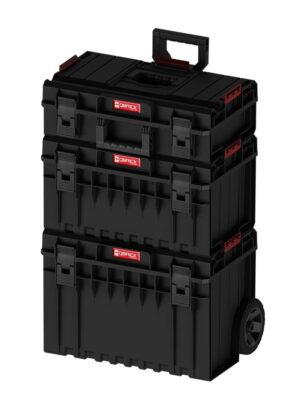 QBRICK SYSTEM ONE CART BASIC SET 2 Zestaw skrzynek narzędzowych, modułowych 3 elementowy Z251064PG002-0