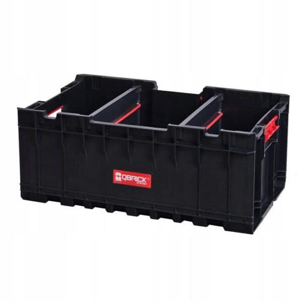 QBRICK SYSTEM SET ONE (TRANSPORT PLATFORM + 3 x ONE BOX) 3 otwarte pojemniki + patforma (SKRQBOXCZAPG001 SKRQTPCZAPG001)-46210
