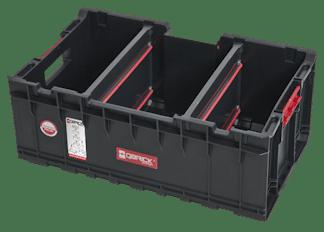 QBRICK SYSTEM SET ONE (TRANSPORT PLATFORM + 3 x ONE BOX) 3 otwarte pojemniki + patforma (SKRQBOXCZAPG001 SKRQTPCZAPG001)-46211