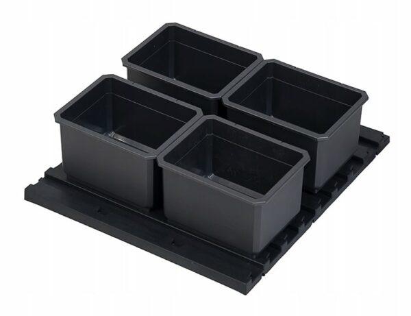 QBRICK SET FX QBRICK SYSTEM 5 ELEMENTS 5 elementowy zestaw pojemników Z247333PG001-46199