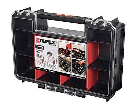 ZESTAW QBRICK SYSTEM TWO BOX 200+ 6 x QBRICK SYSTEM TWO ORGANIZER MULTI Modułowa skrzynia narzędziowa Z251613PG001-46355