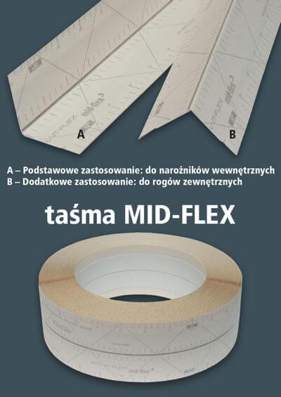 CENTERFLEX - Taśma MID-FLEX ( MF ) 250, 30 mb-45836