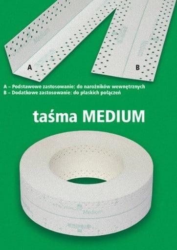 CENTERFLEX - Taśma MEDIUM ( SMH ) 10 mb-45770