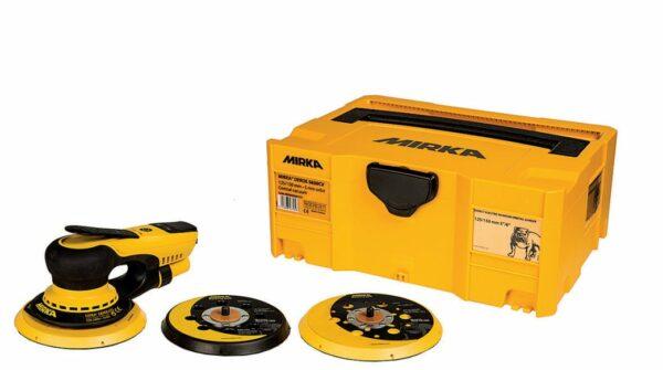 Mirka DEROS 5650CV szlifierka mimośrodowa 125/150 mm, SKOK 5,0 z kontenerem ( MID5650202CA)-0