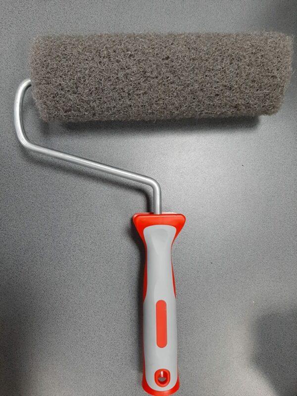 OLEJNIK Zestaw aluminiowych szpachelek, pac do gładzi grubość blachy 0,3 mm (40,60,80, teleskop, adapter) + wałek -46886