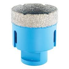 SIGMA Otwornica diamentowa do wiercenia na MOKRO I SUCHO, wiertło diamentowe 40 mm (53040)-0