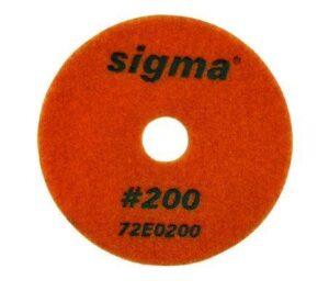 SIGMA DYSK DIAMENTOWY POLERSKI NA RZEP 100MM, GRADACJA 200 SIGMA 72E0200 (SIGMA-72E0200 )-0
