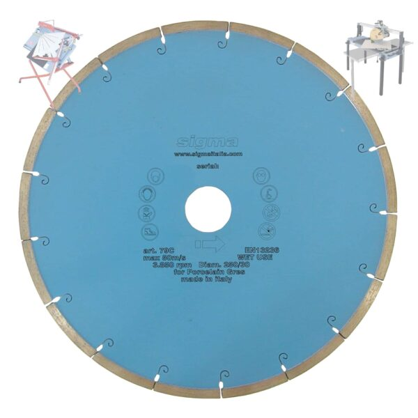 SIGMA TARCZA DIAMENTOWA DO CIĘCIA NA MOKRO 300mm SIGMA 74C (SIGMA-74C)-0
