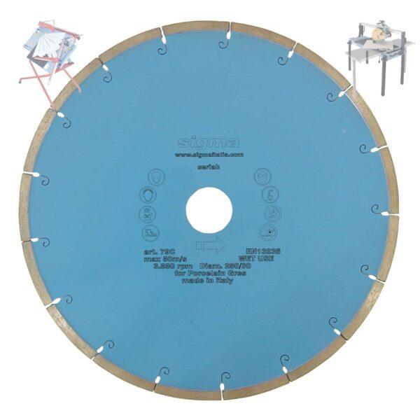 SIGMA TARCZA DIAMENTOWA DO CIĘCIA NA MOKRO 300mm SIGMA 74C (SIGMA-74C)-47164