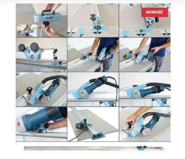SIGMA Urządzenie do cięcia płytek przecinarka ręczna, Zestaw KERA-CUT EXT 8AE2 +8AEP2 długość cięcia 382 cm ( KERA-CUT EXT 8AE2 (SIGMA-8AE2 + 8AEP2)-47015