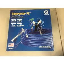 17Y051 GRACO Pistolet Contractor PC Bezpowietrzny pistolet malarski + dysza +wąż (stanowisko malarskie)-47442