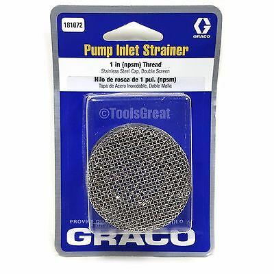 """Graco Filtr sito ssące układu ssącego 1"""" 8 mesh UM 695/795/1095 (181072)-47452"""