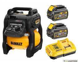 DEWALT Kompresor akumulatorowy 18V/54V/6Ah XR FLEXVOLT 31 l/min 7 BAR DCC1054T2-QW-0