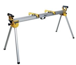 DEWALT Uniwersalne stanowisko robocze 1.7m - 3.9m, nośność 227kg, waga 16kg do pił i pilarek ukosowych, ukośnic DE7023-XJ-0