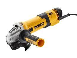 DEWALT Szlifierka kątowa 125 mm, 1500 W z elektroniką DWE4257-QS-0