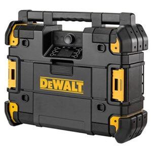 DEWALT Radio budowlane z systemem bluetooth z ładowarką do akumulatorów seri TSTAK DWST1-81078-0