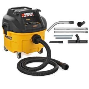 DEWALT Odkurzacz przemysłowy 30l - Klasa L 1400W + Zestaw do czyszczenia podłóg DWV901L-QS + DWV9350-XJ-0
