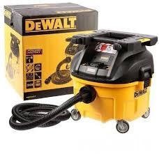 DEWALT Odkurzacz przemysłowy 30l - Klasa L 1400W z zaczepem do montowania skrzynek DWV901LT-QS-0